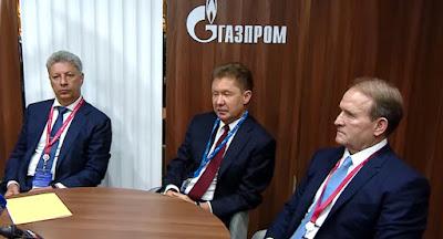 """Медведчук і Бойко знову домовлялися в Росії про """"знижки"""" на газ"""