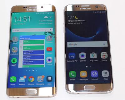 Galaxy S7 co man hinh duoc thiet ke nho gon