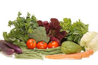 Sayur-sayuran dan buah-buahan penurun berat badan