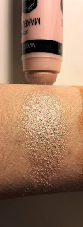 wet n wild megaglo makeup stick highlight in when the nude strikes swatch