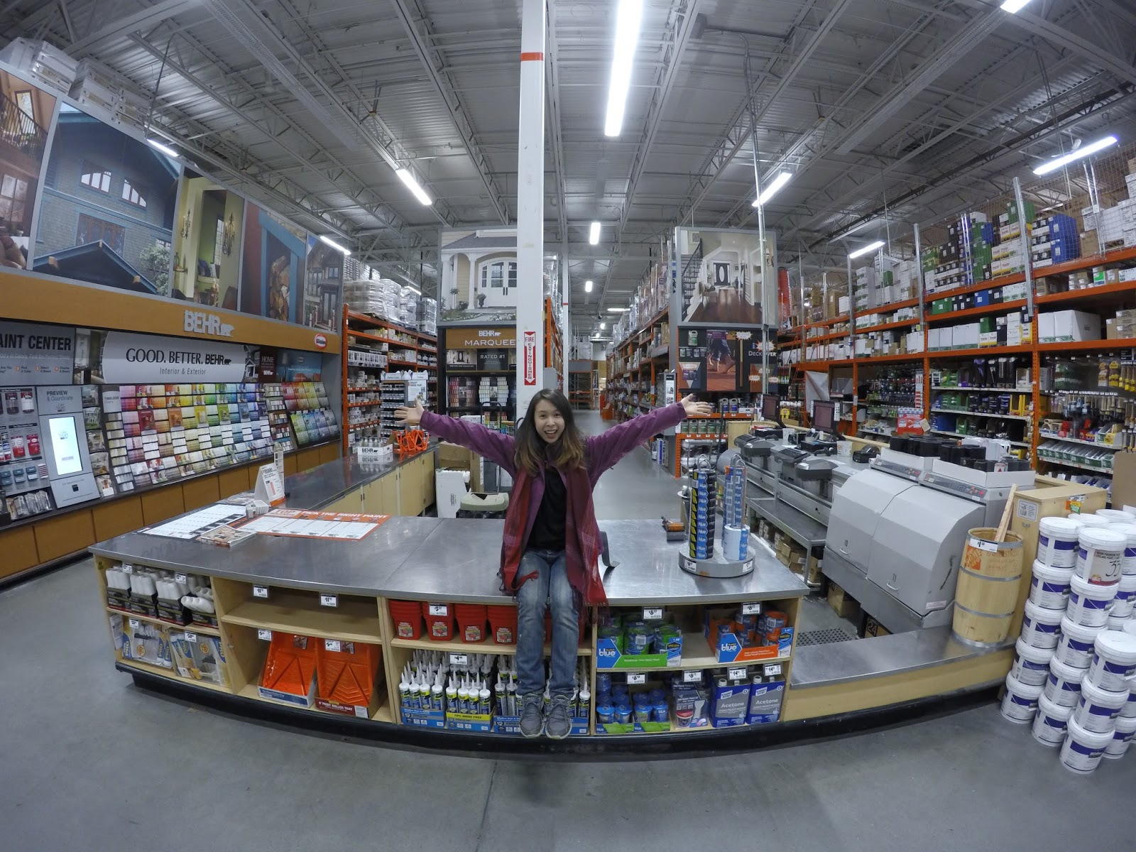 Sales Associate at the Home Depot Paint Department