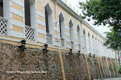 Moorish Barracks,the Head Quarter of Marine and Water Bureau, Macau