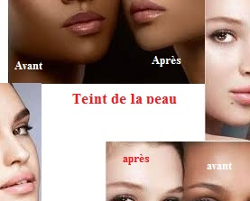 Pour améliorer teint de la peau