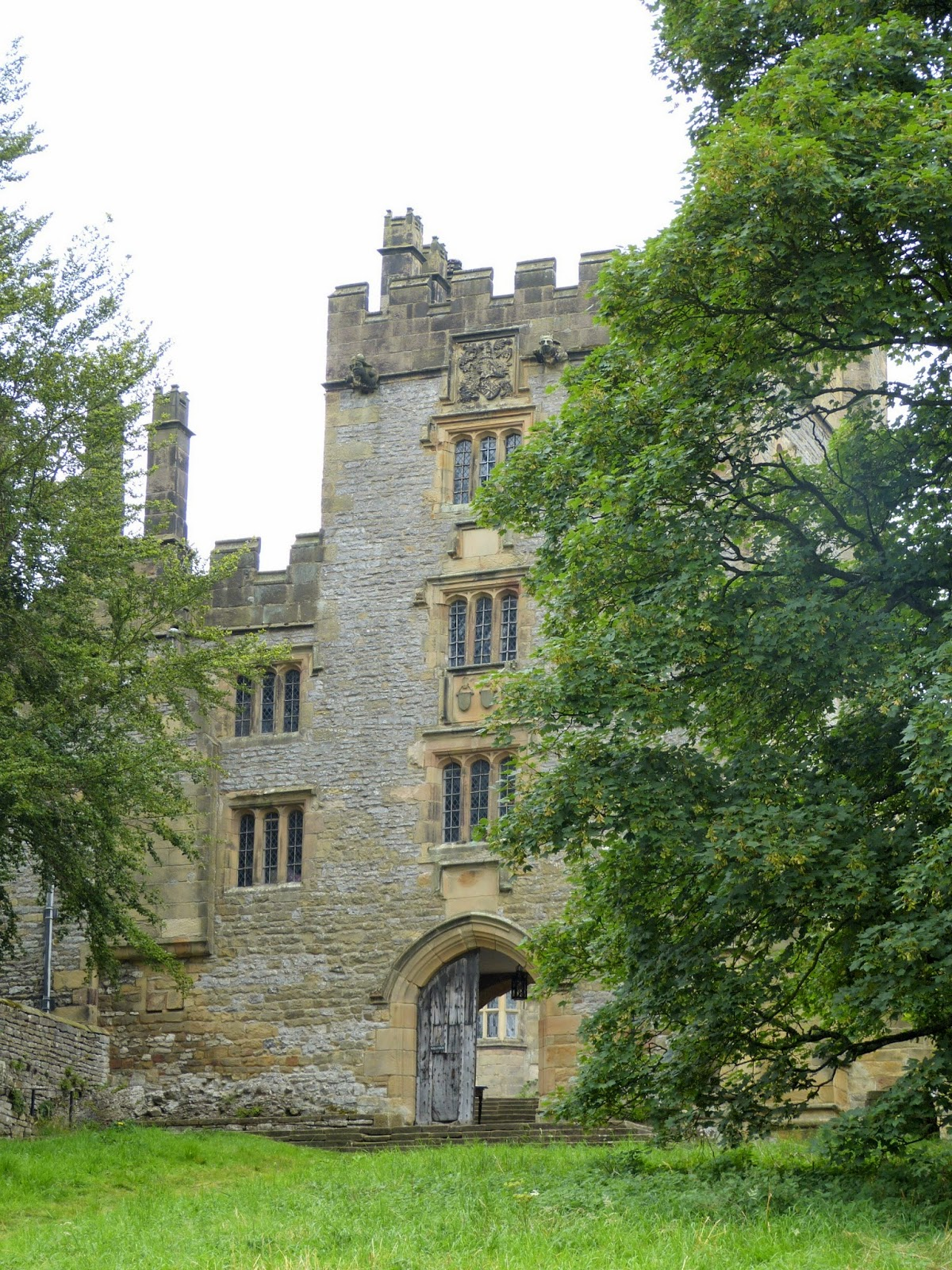 Entrance to Haddon Hall