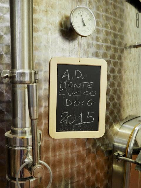 Výroba vína - Podere Montale