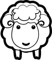 Cute Baby Sheep Coloring Pages Animals