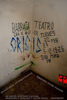 Obra CRISIS | Barraca Teatro