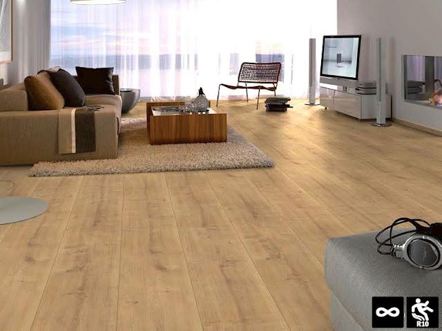 nilai estetika ruaangan bertambah dengan lantai parket