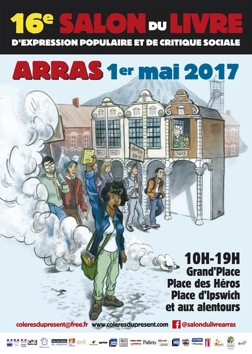 Les bd de tito 16 me salon du livre d 39 arras col res du for Salon du livre 2017