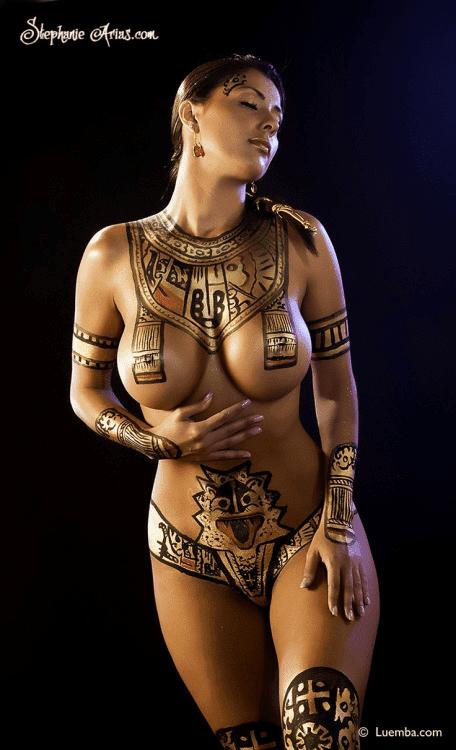 cosplay girls, body art, Egitto