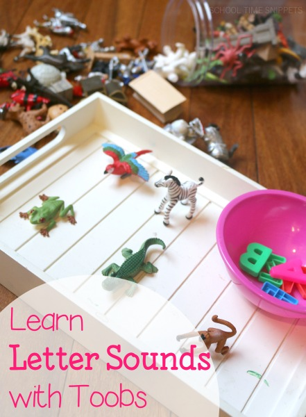 Simple, fun, and hands-on way to learn letter sounds using Toobs!