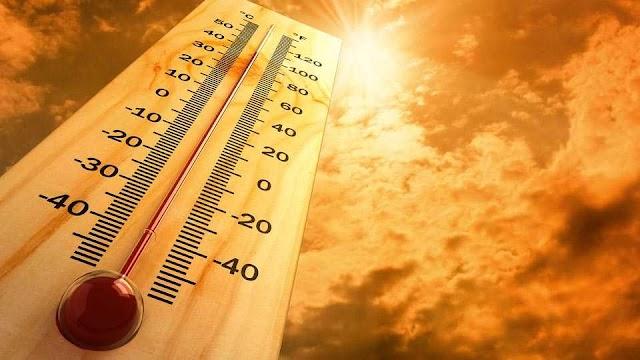 🔥 देशात तापमानाचा पारा वाढला