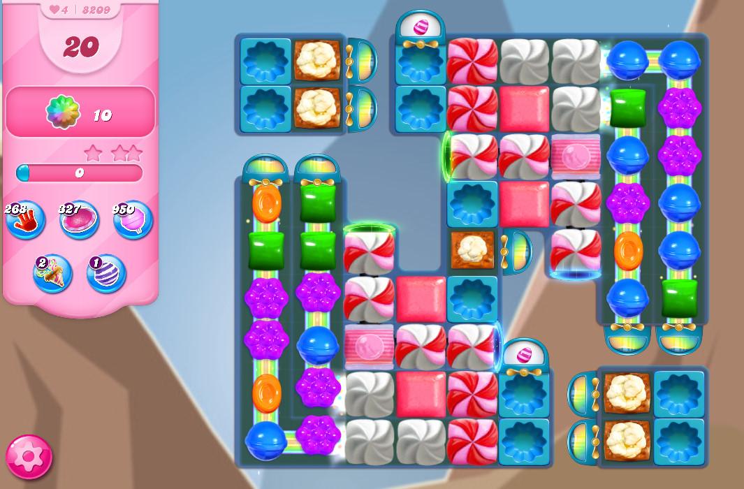 Candy Crush Saga level 8209