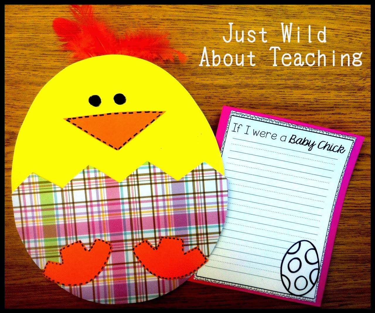 Just Wild About Teaching Springing For Easter Craft