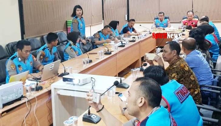 Karo SDM, Pimpin Rapat Penentuan TMS dan MS Hasil Rikmin Akhir Catar Akpol, Casis Bintara dan Tamtama