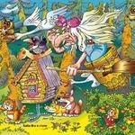 Сказочные частушки про Бабу-Ягу для детей
