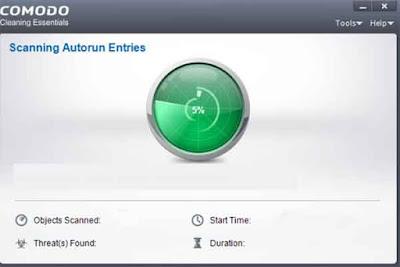 antivirus portable Comodo Cleaning Essentials (CCE)
