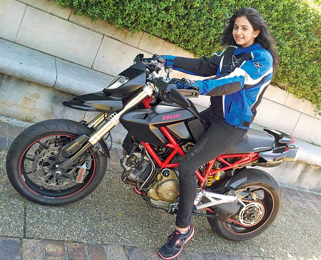 Rakul Preet Hot Photo Shoot In Bike Ride