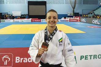 Judoca Nathália Brigida passará por cirurgia na coluna e está fora do Pan e do Mundial