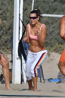 alessandra ambrosio plays beach volleyball 10 24 2020 4