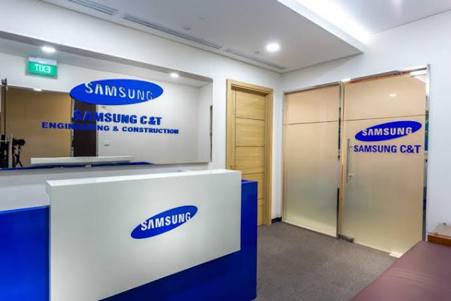 Lowongan Kerja Karyawan Perusahaan Samsung C&T | Terbuka 11 Posisi dan Penempatan (Periode: November 2019 - Januari 2020)