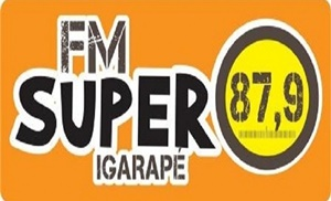 Rádio FM Super 87.9 FM - Igarapé / MG