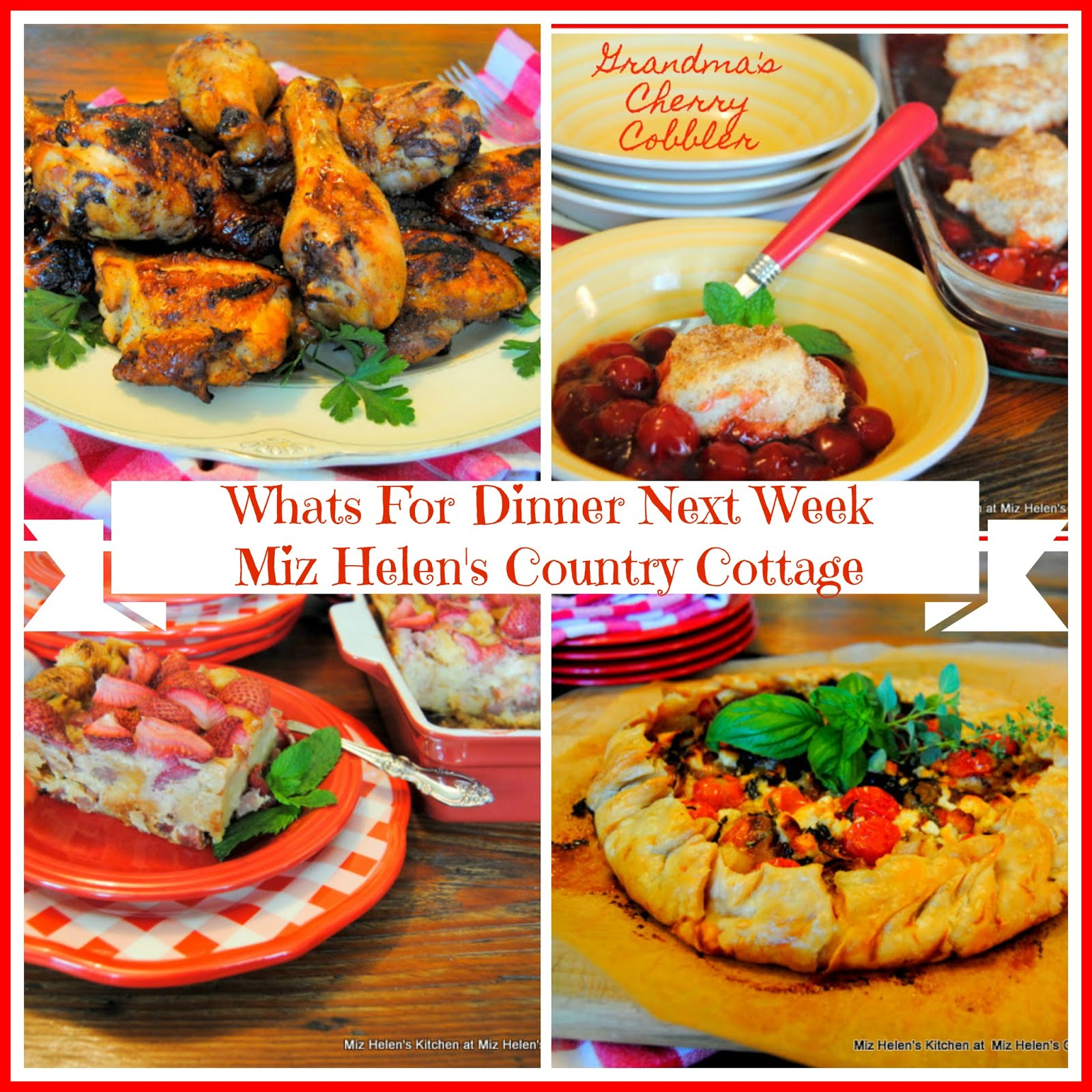 Whats For Dinner Next Week * Week of 7-12-20