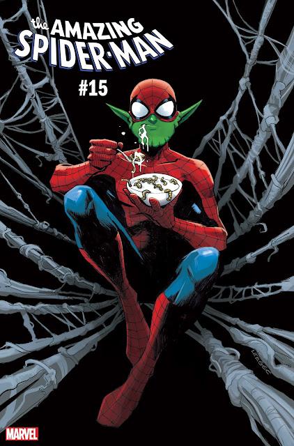 AMAZING SPIDER-MAN #15 by Lee Garbett