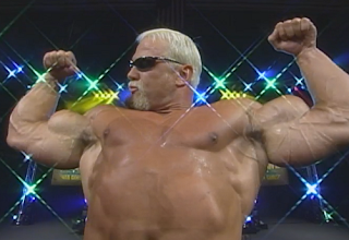 WCW Fall Brawl 1998 Review: Big Poppa Pump poses before his match with Rick Steiner