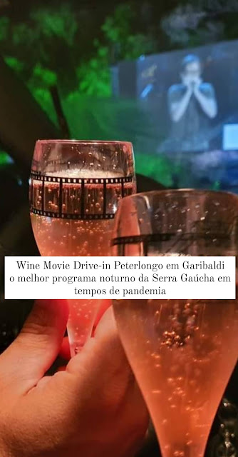 Wine Movie Drive-in Peterlongo em Garibaldi
