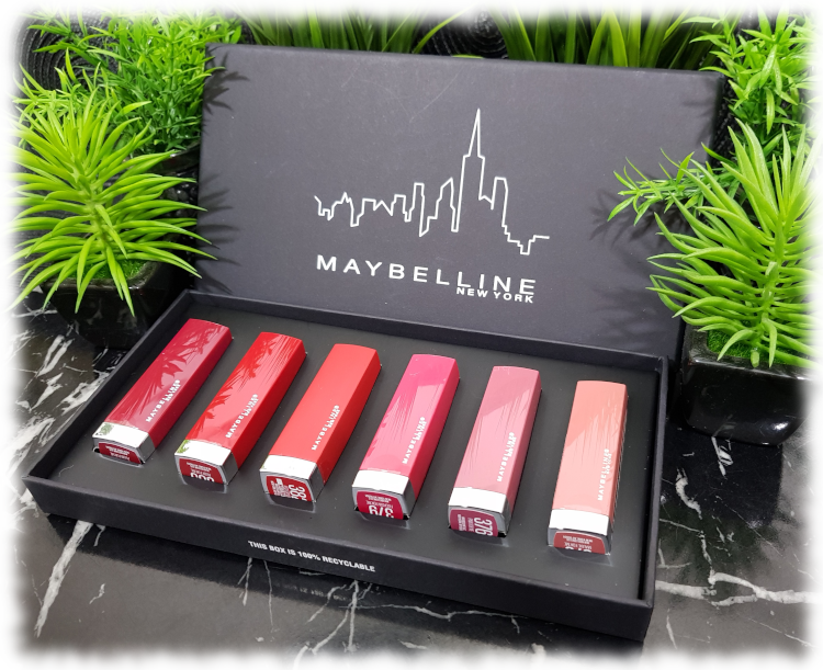 PR Box of lipsticks