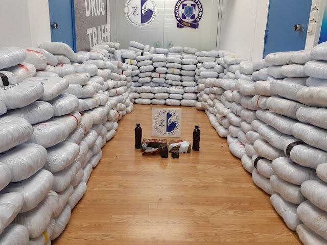 Θεσπρωτία: Λεπτομέρειες για το πως σπείρα περνούσε τόνους ναρκωτικά από την Αλβανία στην Ηγ/τσα (ΦΩΤΟ)