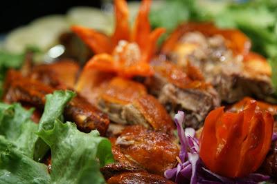Roasted Duck and honey sauce ala Ibis Kitchen Pontianak
