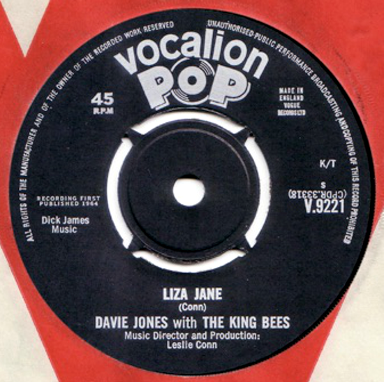 David Bowie, single 1964 side A