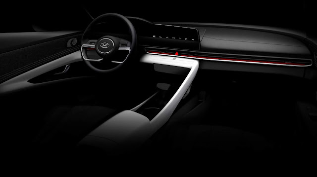 Novo Hyundai Elantra 2021 - interior