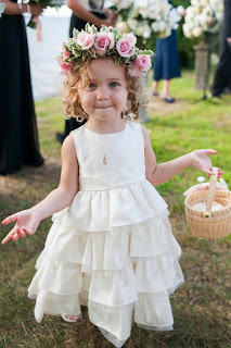 Pretty Cute Wedding Hairstyles for Flower Girls