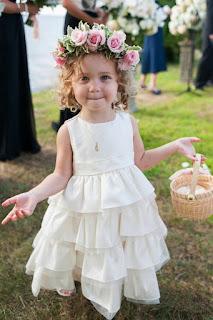 Pretty Cute Wedding Hairstyles for Flower Girls