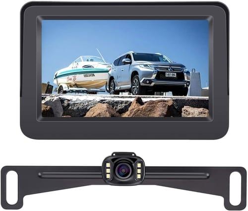 AMTIFO A2 Cars HD 720 Backup Camera with Monitor