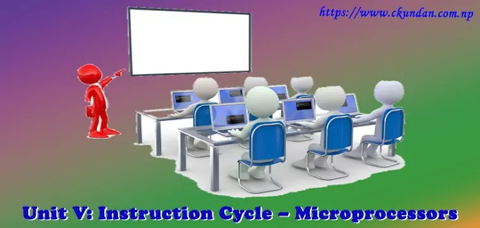 Unit V: Instruction Cycle – Microprocessors