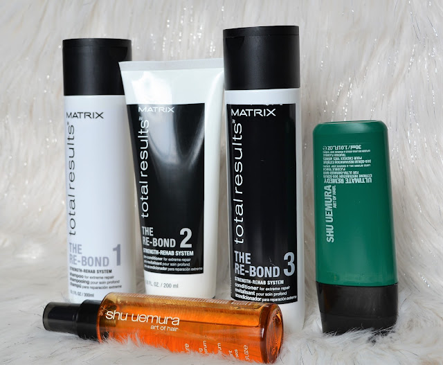 My Full 5 Step Regimen | Matrix & Shu Uemura Products