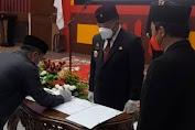 Bupati Paolus Hadi Lantik Pejabat Administrator dan Pengawas Lingkungan Pemkab Sanggau