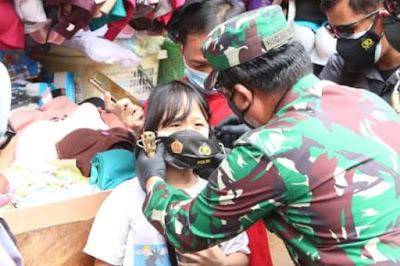 "Panglima TNI Tindaklanjuti Webinar ""Vaksin Covid-19 Untuk Indonesia Bangkit"""