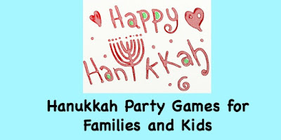 Hanukkah party games for kids and families