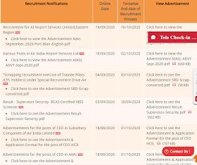 air india various post vacancies 2020