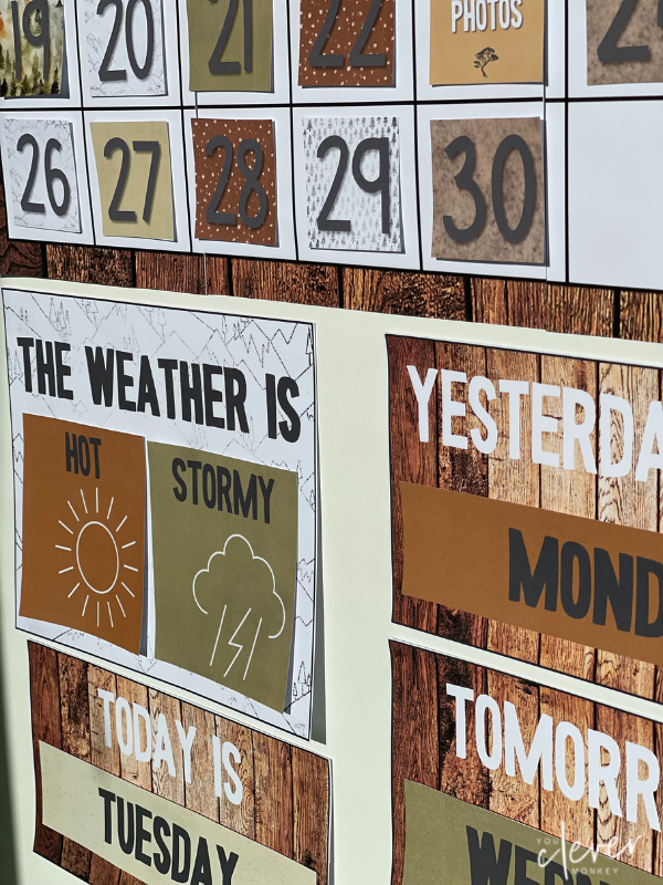 Why and how you should be using a large calendar in your classroom | you clever monkey