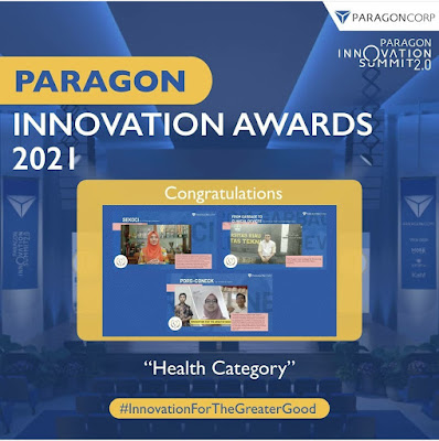 Dr Ahmad Fadli Dosen UNRI Menjadi Pemenang Paragon Innovation Award 2.0 Katagori Kesehatan