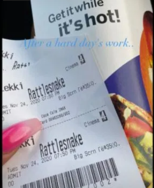 Lucy Continues To 'Pepper' Ka3na As She Shares Photo Of A Ticket She Bought To Watch Nengi's New Movie
