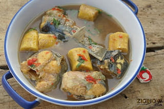 HOW TO PREPARE PLANTAIN AND FRESH FISH SOUP (SIMPLIFIED METHOD) - ZIGIHOW.COM.NG