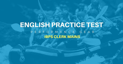 English Practice Test IBPS Clerk