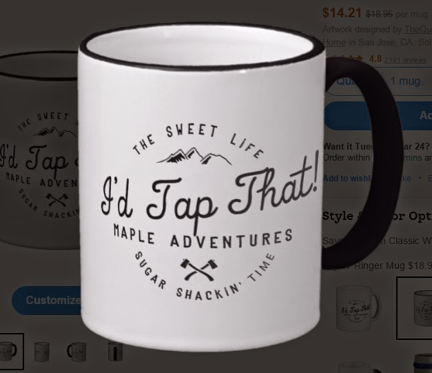 I'd Tap That! Maple Adventure Mug